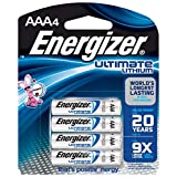 Energizer L92BP4 Ultimate Lithium L92BP-4 AAA Battery 4-Count