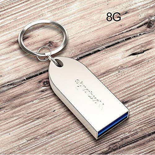 Fashionable Universal Metal Rectangle Pen Driver Memory Stick USB U Disk for PC Phone Tablet Computer Flash Drive