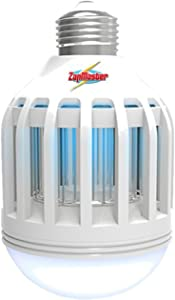 Zap Master ZM400 Led 2-in-1 Bug Zapper Bulb & Porch Light