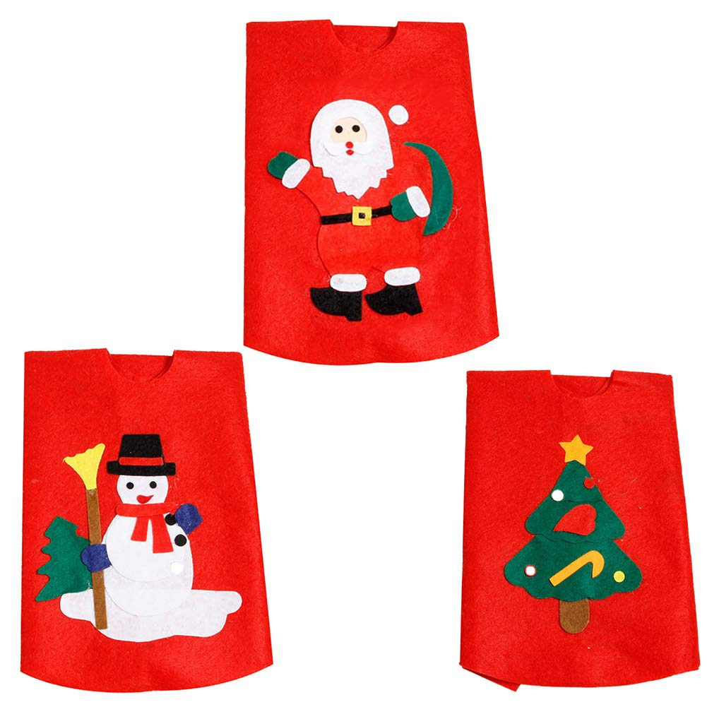 Yinpinxinmao Christmas Tree Santa Snowman Style Floor mat.Ground Cover Apron Party Xmas Decoration Christmas Tree# L by Yinpinxinmao (Image #2)