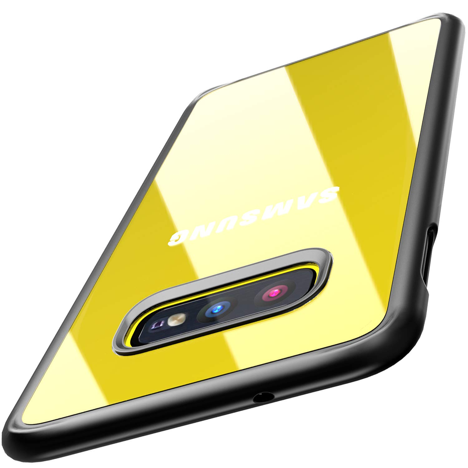 TOZO for Samsung Galaxy S10e Case 5.8 Inch (2019) Hybrid Soft Grip Matte Finish Clear Back Panel Ultra-Thin [Slim Thin Fit] Cover for Samsung Galaxy S10e