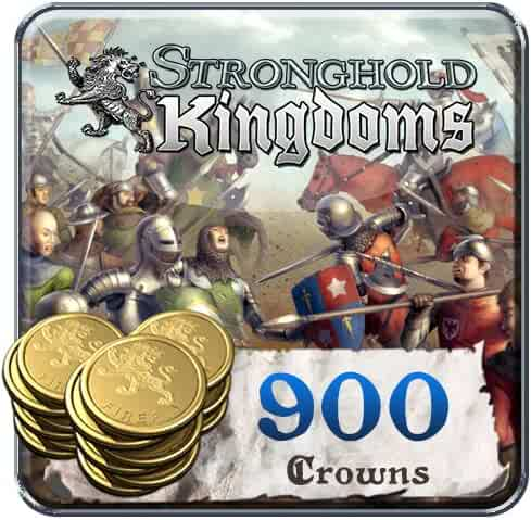 900 Stronghold Kingdoms Crowns: Stronghold Kingdoms [Instant Access]