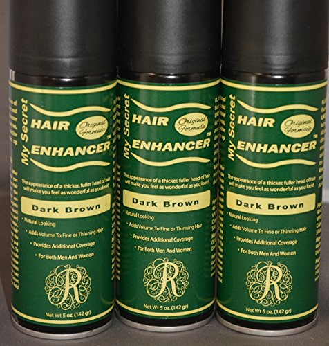 My Secret Hair Enhancer Dark Brown (3 Pack) by My Secret