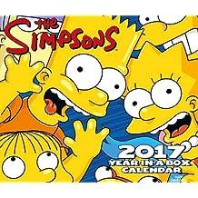 The Simpsons Official 2017 Desk Block Calendar