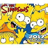 The Simpsons Official 2017 Desk Block Calendar - Page-A-Day Desk Calendar 2017 (Box)
