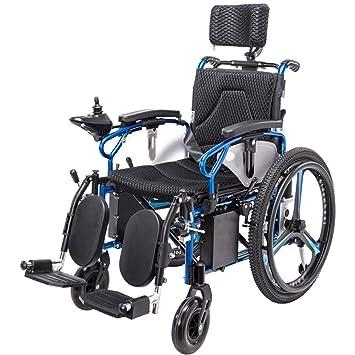 Amazon.com: Silla de ruedas eléctrica de alta resistencia ...