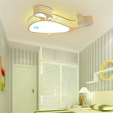 BRIGHTLLT Habitación niños lámpara de techo led luz cartoon ...
