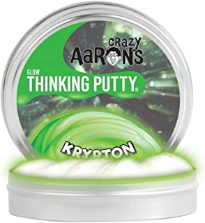 product image for Crazy Aaron's Glow in the Dark Thinking Putty - Krypton Putty Glows Green in the Dark - 3.2 Ounce, Never Dries Out