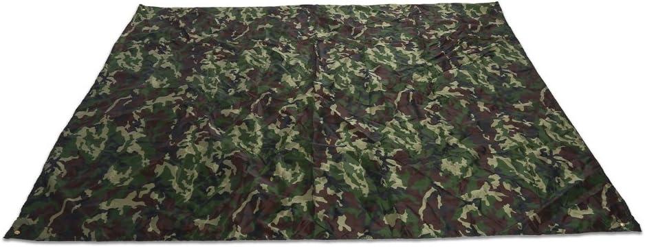 YHG Camuflaje Picnic Mat Camuflaje al Aire Libre Carpa Refugio Impermeable Sombra Pa/ño para al Aire Libre Camping Picnic Manta