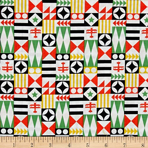 Goose Yard Block (Michael Miller Up & Away Festival Planes Boy Fabric By The Yard)