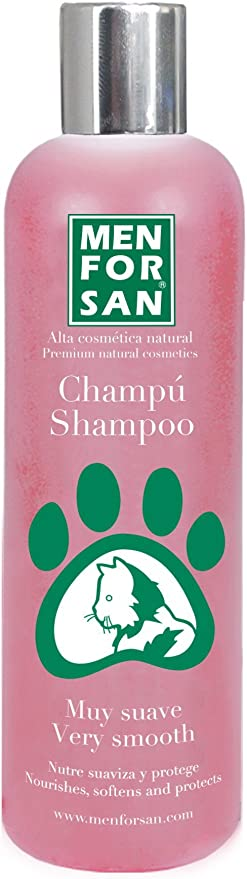 MENFORSAN champú muy suave para gatos bote 300 ml: Amazon.es: Productos para mascotas