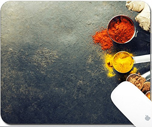 - Luxlady Gaming Mousepad 9.25in X 7.25in IMAGE: 34112046 Herbs and spices selection close up