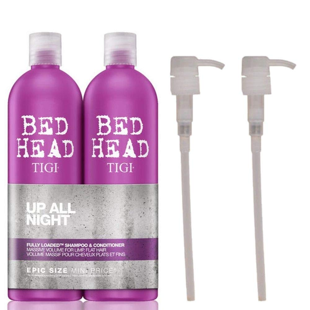 Fully Loaded with PUMPS 750ml Shampoo & Conditioner