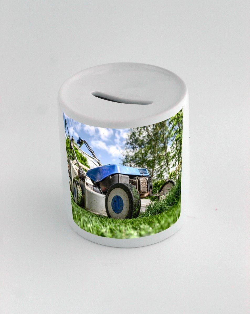 Caja de dinero con cortadora de césped, jardinería, lawn-mower: Amazon.es: Hogar