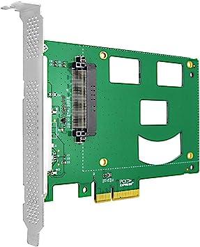 Adaptador PCIe NVMe SSD con Interfaz de Conector U.2 SFF-8639 para ...