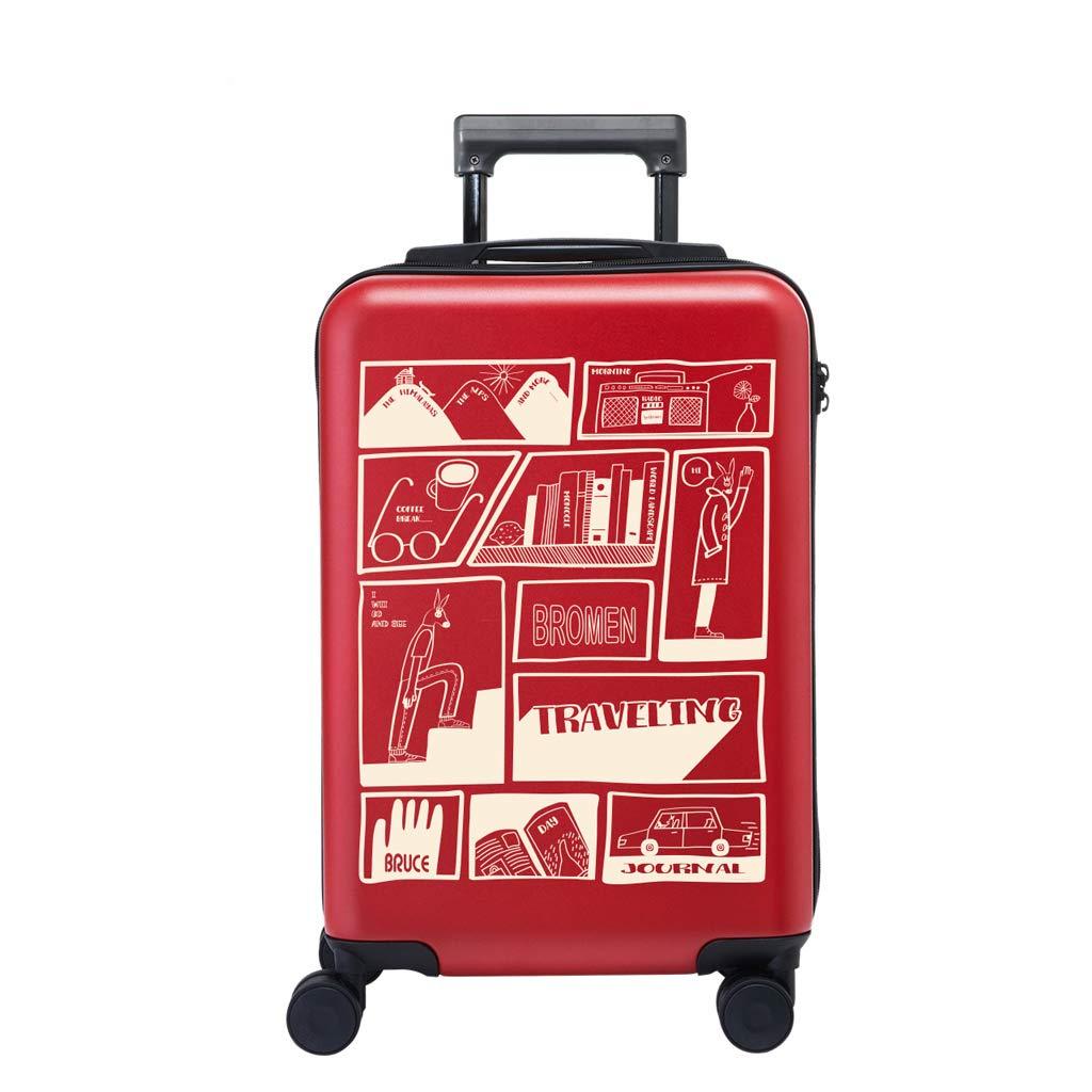 英国スタイル高値20インチ/ 24インチスーツケース学生小フレッシュトロリーケース (色 : A3, サイズ さいず : 20inches) 20inches A3 B07L6FTHDH