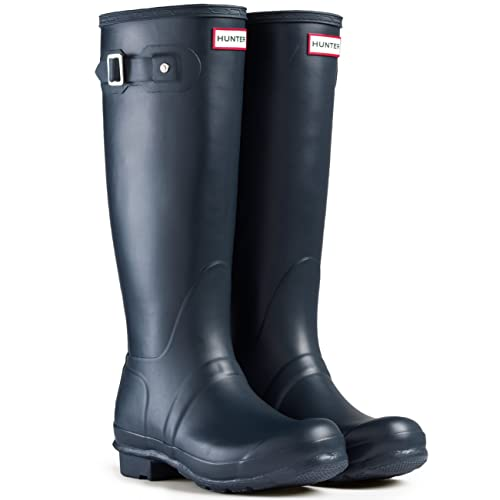 innovative design b4810 24c98 Hunter Damen Womens Org Tall-wft1000rma Gummistiefel, Silber