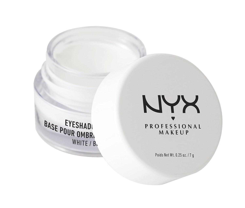 NYX Professional Makeup Eyeshadow Base, White, 0.25 Ounce NYX Cosmetics NYX-ESB01