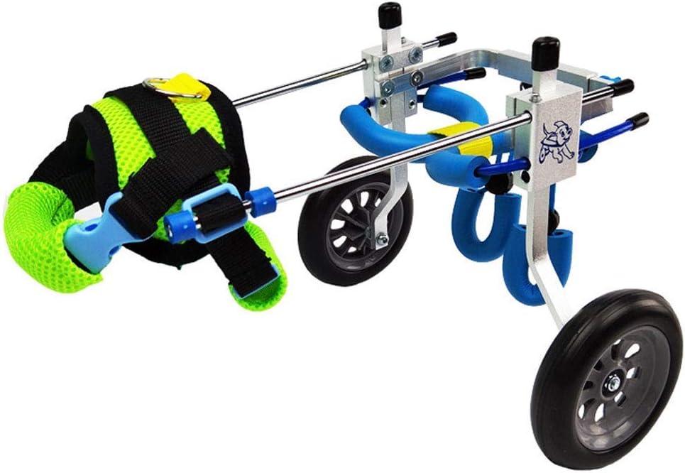 犬用車椅子/犬用スクーター/後肢障害者用車椅子/ペットリハビリテーション訓練車 (色 : A, サイズ さいず : M)