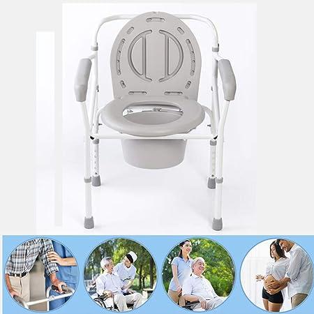 Chaise de toilette Commode de Chevet Chaise de lit Pliante