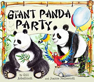 book cover of The Giant Panda Party