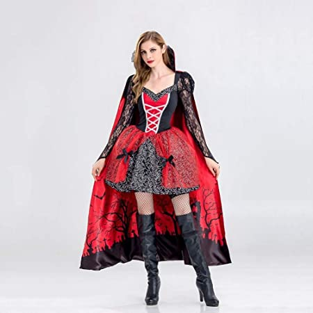 Shisky Disfraz de Halloween Mujer, Disfraz Halloween Bruja Traje ...