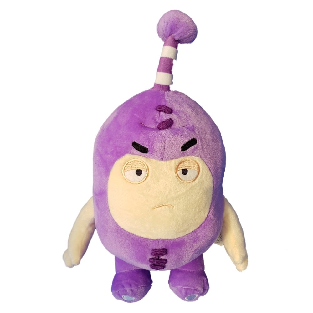 Oddbods Large 30cm Plush Soft Cuddly Toy Newt Bubbles Pogo Zee Jeff Fuse Slick (Purple): Amazon.es: Juguetes y juegos