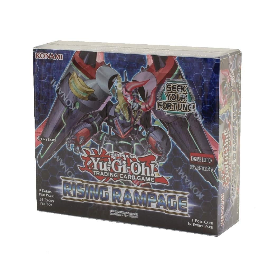 Yu-Gi-Oh! Rising Rampage Booster Display Box (24) KON84357