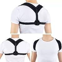 ENbeautter Corrector de la postura de la parte superior de la espalda, Cinturón de soporte para la clavícula Estiramiento de la espalda Postura correctiva, Corrección Espinas para la columna vertebral Apoya la salud