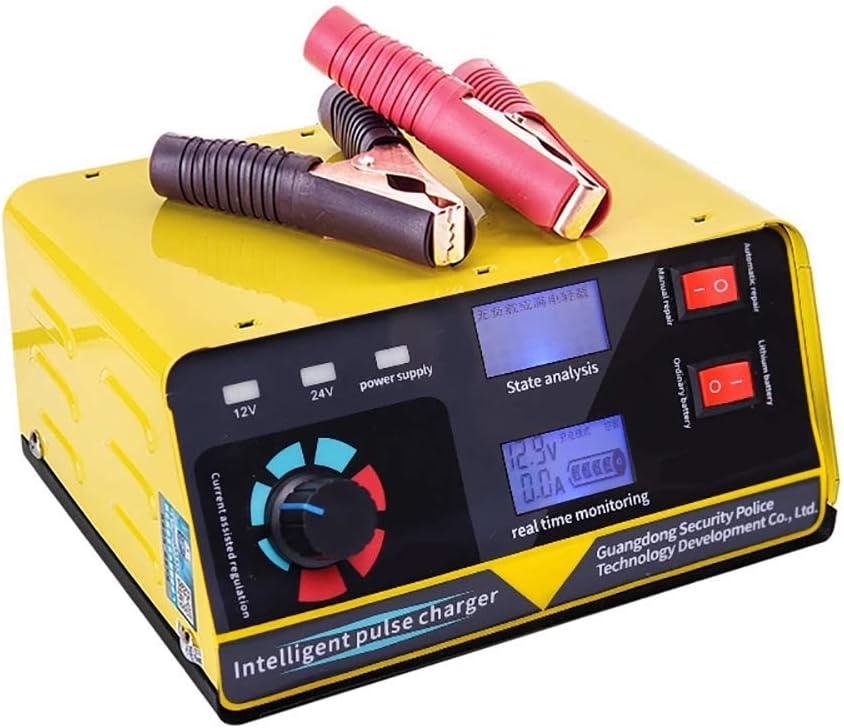 Cargador 240W 12V / 24V 6-400AH 20A Cargador de batería para automóvil completamente automático Motocicleta Baterías automáticas Fuente de alimentación Accesorios para automóvil,Us
