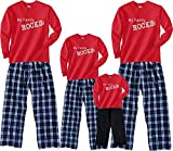 My Family Rocks Cozy Pant Sets for Whole Family Adults, Kids, Dog