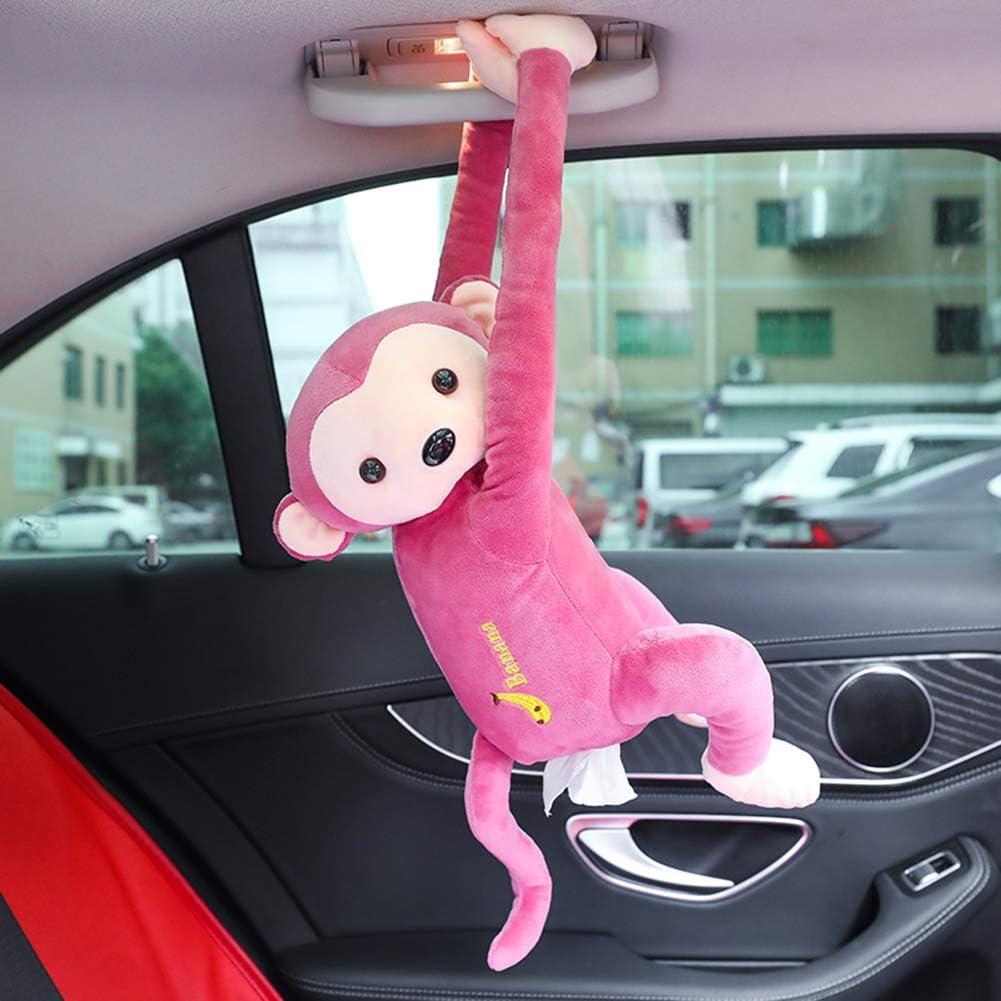 FIRLAR - Portarrollos de papel para pañuelos, diseño de mono, estilo juguete, caja de almacenamiento para servilletas de papel para el hogar del coche (A1, 52 x 35 cm) 52*35cm/20.47*13.78inches A1