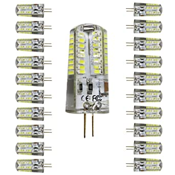 Mengjay® 20 unidades Bombilla LED G4 perlas, equivale a halógeno de 50W lámpara kaltesweiß