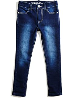 2-6 GUESS Factory Kids Girl/'s Emily Power Skinny Jeans