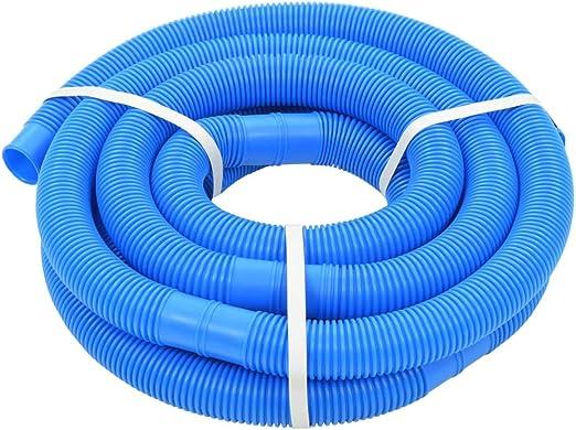 vidaXL Manguera Piscina Azul 38 mm 6 m Mantenimiento Terraza Patio Jardín Casa: Amazon.es: Jardín