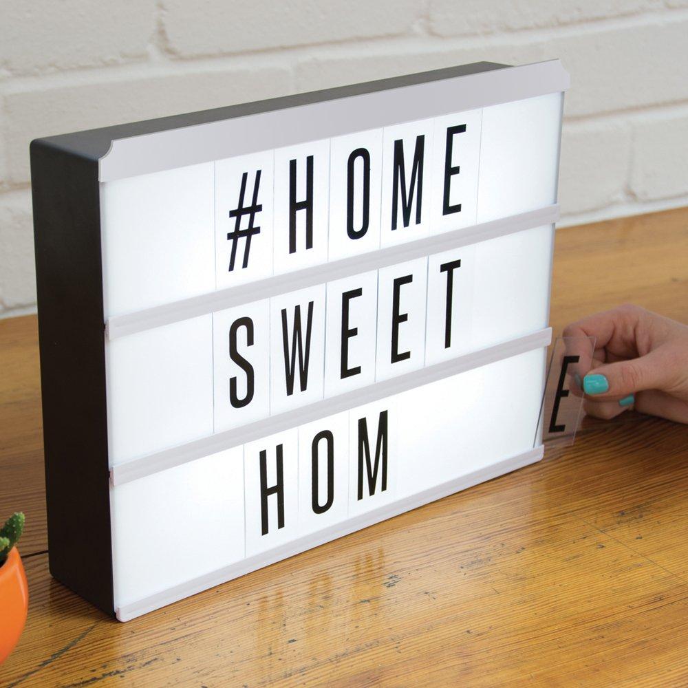 Light Up Letter Board light up letter