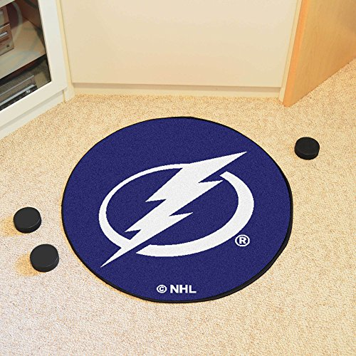 - FANMATS NHL Tampa Bay Lightning Nylon Face Hockey Puck Rug