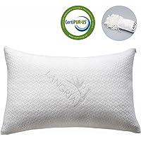 Langria Luxury Bamboo Shredded Memory Foam Pillow