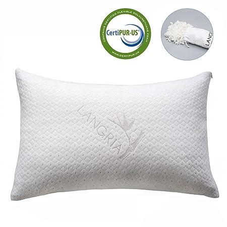 Langria Bamboo Shredded Memory Foam Luxury Pillow