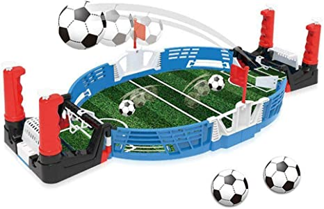 Table Football Set Mini Tabletop Soccer Game Desktop Mini Football ...