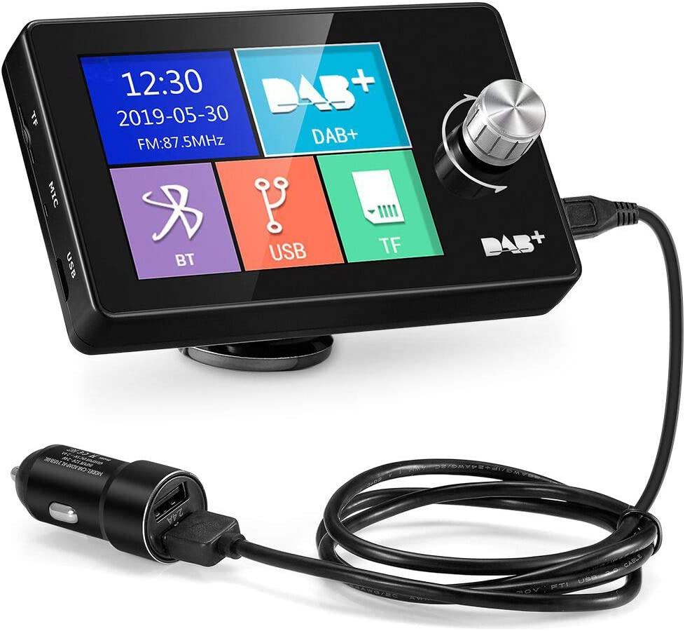 Ezonetronics 2 8 Buntes Display Auto Dab Radio Adapter Elektronik