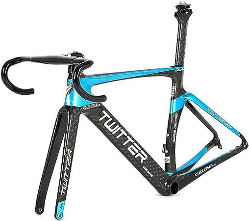 Cuadro de bicicleta de carretera, horquilla de fibra de ...