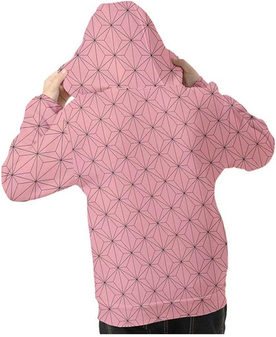 鬼滅の刃 子供用 3Dプリント パーカー コート子供服 キッズ 男の子 女の子 半袖 記念シャツ 長袖 きめつのやいばぱーかー 100-160cm