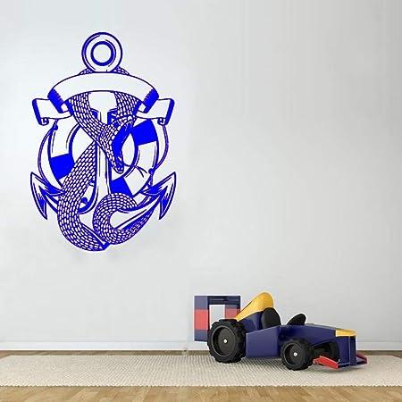zqyjhkou Tatuaje de Serpiente Pegatinas de Pared extraíbles Azul ...
