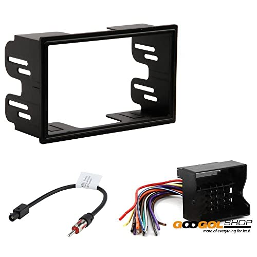 Vw Car Stereo Cd Player Radio Dash Installation Trim Pocket Kit Wiring