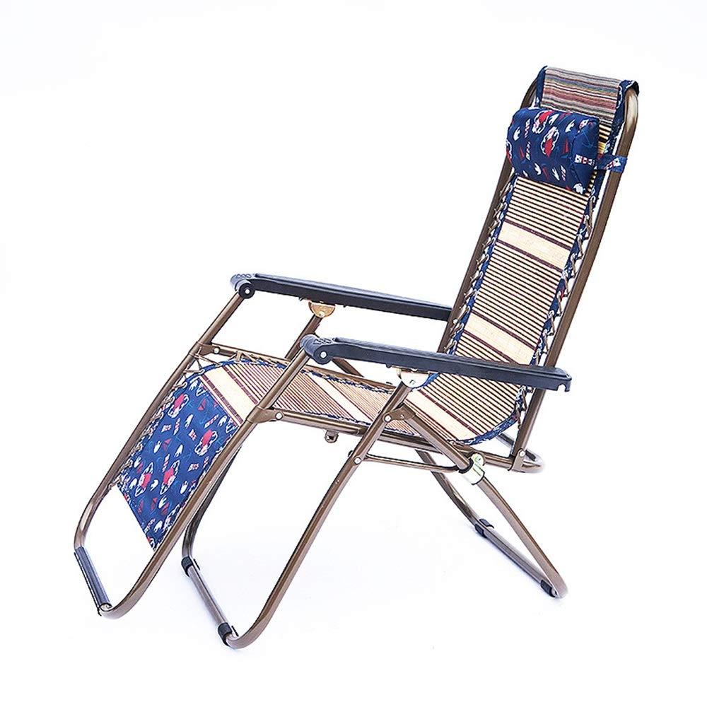 JDGK - ラウンジチェア B07T1FLRT7 8974 激安☆超特価 海外限定 折りたたみ椅子ロッキングチェアクール竹シルク竹ラウンジチェア屋外リクライニングチェアラウンジチェア