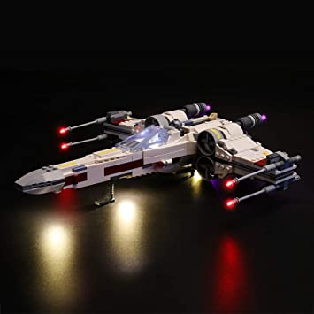 NOT Included The Model LIGHTAILING Light Set for Star Wars Poe Damerons X-Wing Fighter Led Light kit Compatible with Lego 75273 Building Blocks Model