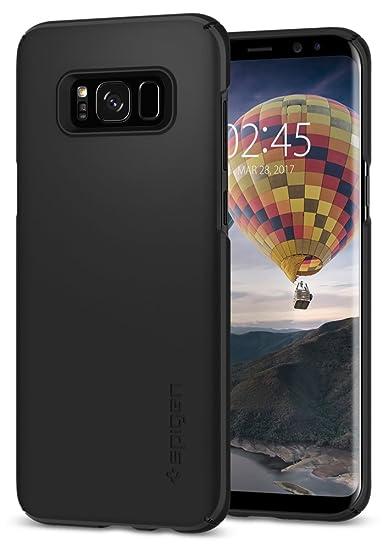 info for 1dc63 af5bc Spigen Thin Fit Designed for Samsung Galaxy S8 Plus Case (2017) - Black