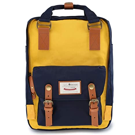 7059188fc762 Image Unavailable. Image not available for. Color  Himawari School  Functional Travel Waterproof Backpack Bag ...