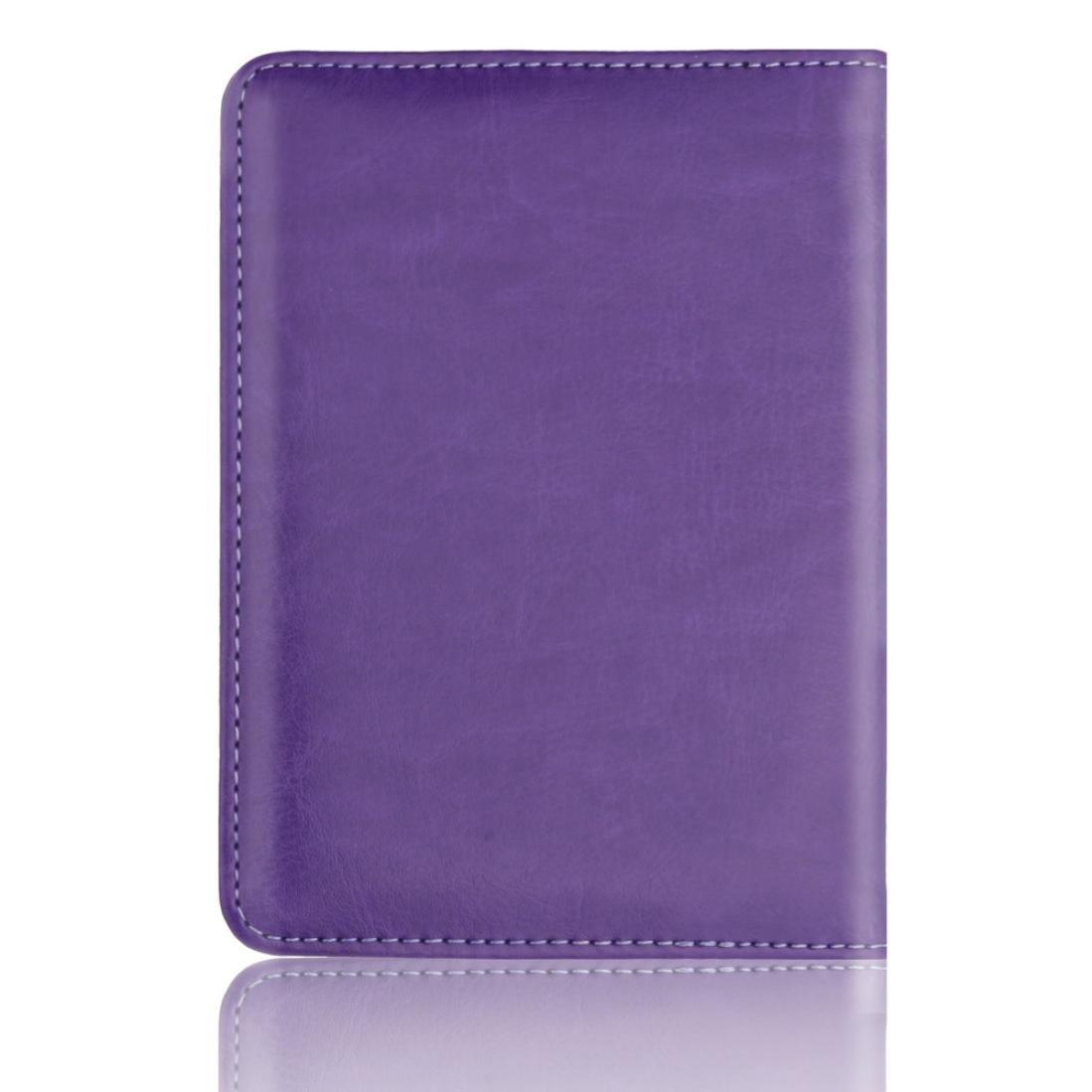 Blue Storage Package Yezijin Leather Passport Holder Wallet Cover Case RFID Blocking Travel Wallet